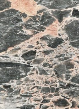 Salmon Grey Marble