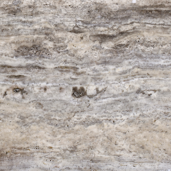 Silver Travertine Vein Cut A